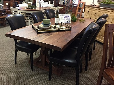 Barn Beam Trestle Dining Collection