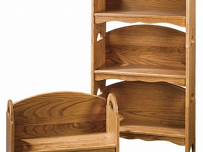 Stacking Bookshelf Bench