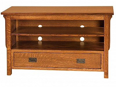 Landmark Open Flat Screen TV Cabinet
